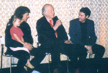 "Dr. Meade, Ray Harryhausen and Bruce Crawford discuss the films ""Mysterious Island"" and ""7th Voyage of Sinbad""."